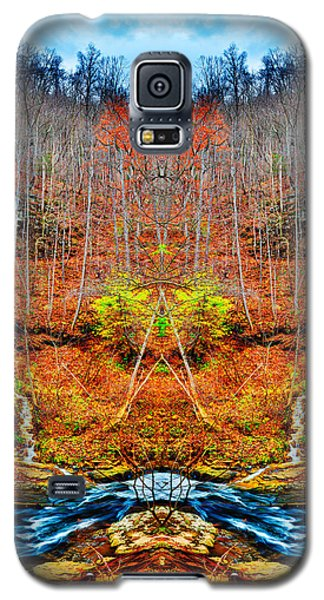 Two Converging Water Falls Galaxy S5 Case