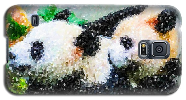 Two Cute Panda Galaxy S5 Case by Lanjee Chee