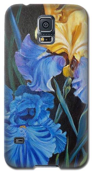 Two Fancy Iris Galaxy S5 Case