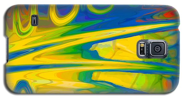 Two Fauvist Snakes Galaxy S5 Case
