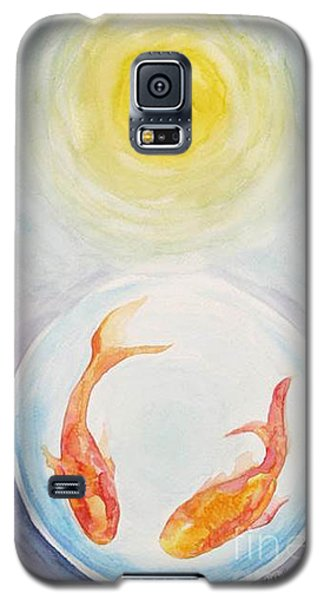 Two Fish Galaxy S5 Case by Shirin Shahram Badie