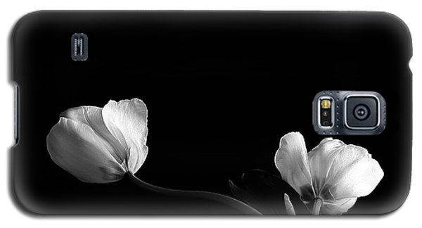 Galaxy S5 Case featuring the photograph Two Flowers by Marwan Khoury