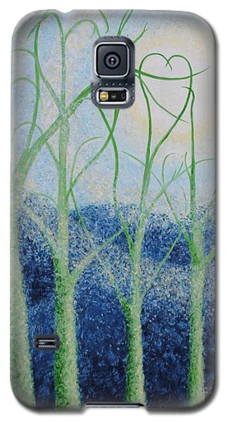 Two Hearts Galaxy S5 Case by Holly Carmichael