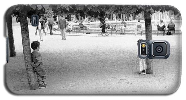 Two Kids In Paris Galaxy S5 Case
