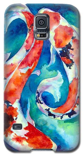Two Koi Fish Galaxy S5 Case