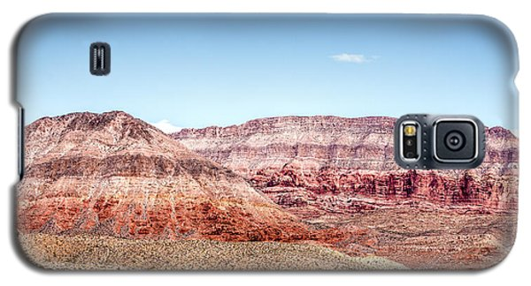 Two Layered Mountains Galaxy S5 Case by  Onyonet  Photo Studios