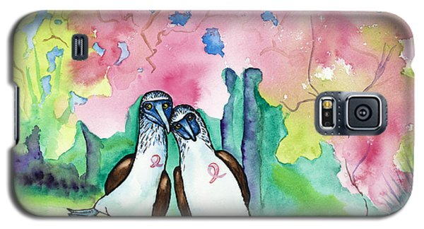 Two Little Boobies Support Breast Cancer Awareness Week Galaxy S5 Case