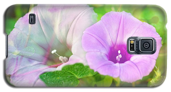 Two Morning Glories Galaxy S5 Case