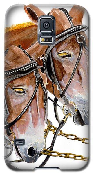 Two Mules - Enhanced Color - Farmer's Friend Galaxy S5 Case