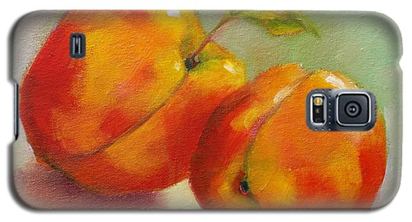 Two Peaches Galaxy S5 Case by Michelle Abrams