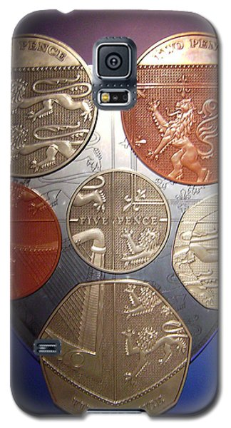 Two Pence Five Pence Ten Pence Galaxy S5 Case