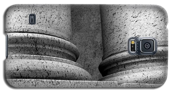 Galaxy S5 Case featuring the photograph Two Pillars 001 by Dorin Adrian Berbier