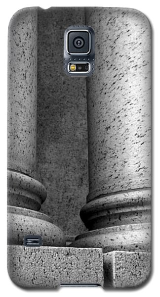 Galaxy S5 Case featuring the photograph Two Pillars 002 by Dorin Adrian Berbier
