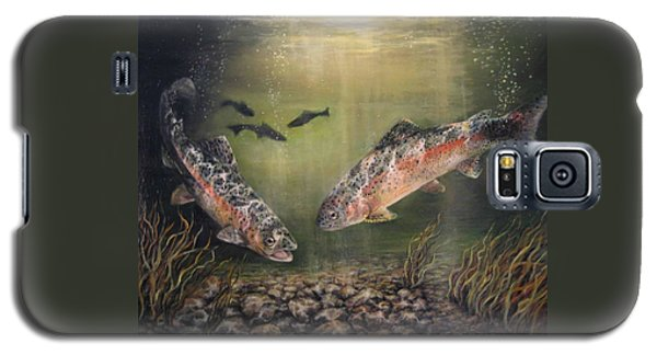 Two Rainbow Trout Galaxy S5 Case