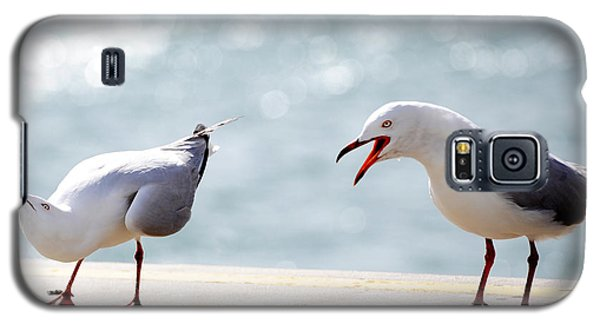 Two Seagulls Galaxy S5 Case by Yew Kwang