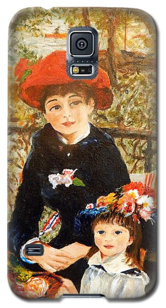 Two Sisters On The Terrace After Renoir Galaxy S5 Case by Betty-Anne McDonald