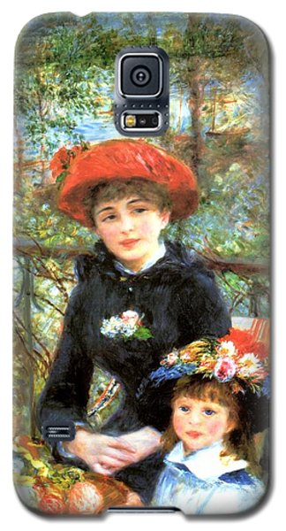 Two Sisters On The Terrace Galaxy S5 Case
