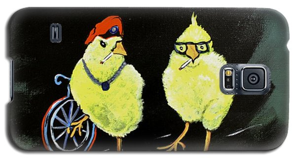 Two Smokin Hot Chicks Galaxy S5 Case