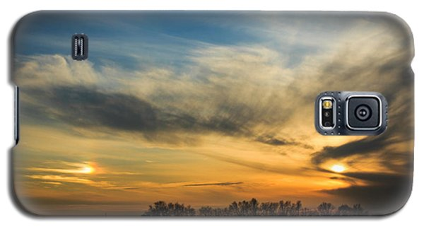 Galaxy S5 Case featuring the photograph Two Suns Over Kentucky by Peta Thames
