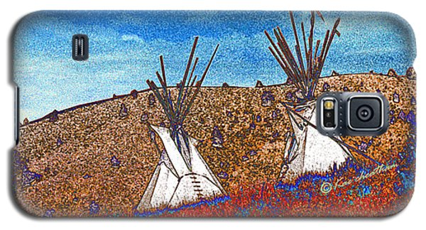 Two Teepees Galaxy S5 Case