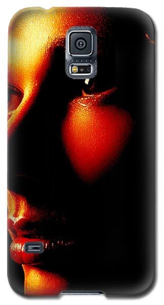 Two Tone Portrait Galaxy S5 Case