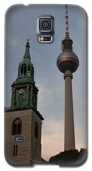 Two Towers In Berlin Galaxy S5 Case