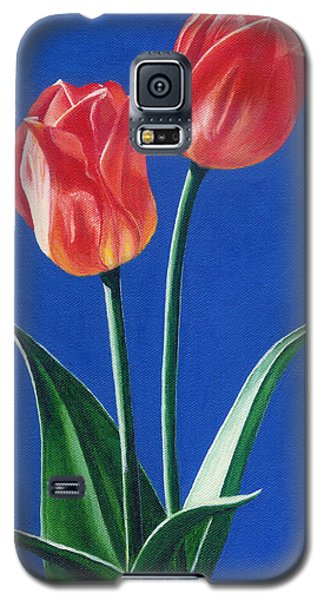 Two Tulips Galaxy S5 Case