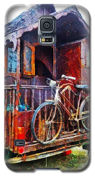 Two Wheels On My Wagon Galaxy S5 Case by Steve Taylor