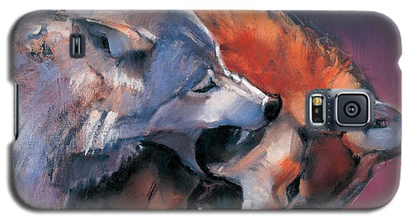 Two Wolves Galaxy S5 Case