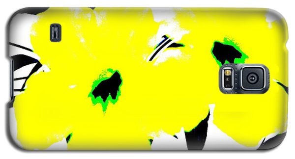 Two Yellow Jacks W Logo Galaxy S5 Case