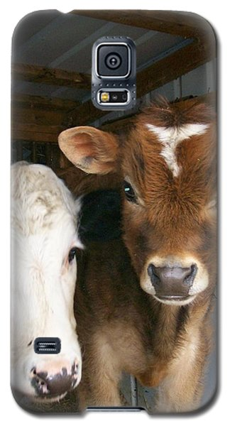 Galaxy S5 Case featuring the photograph Two's Company by Sara  Raber