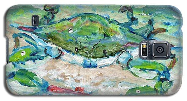 Tybee Blue Crab Mini Series Galaxy S5 Case by Doris Blessington