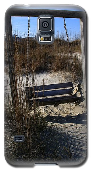 Galaxy S5 Case featuring the photograph Tybee Island Georgia by Jacqueline M Lewis