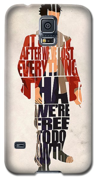 Tyler Durden Galaxy S5 Case by Ayse Deniz