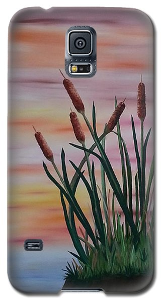 Typha Galaxy S5 Case by Valorie Cross