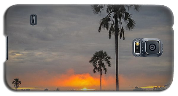 Typical African Sunset Galaxy S5 Case