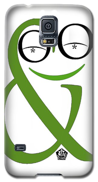 Typographical Frog Galaxy S5 Case