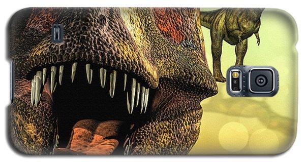 Tyrannosaurus Rex 4 Galaxy S5 Case by Bob Orsillo