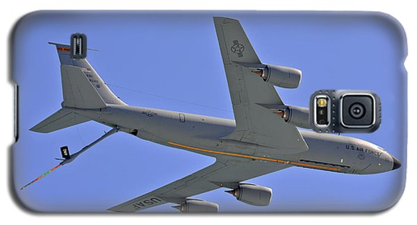 Galaxy S5 Case featuring the photograph U S Air Force Flyover by DigiArt Diaries by Vicky B Fuller