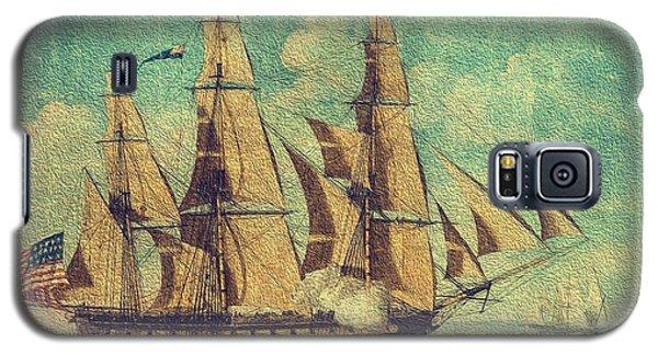 U S S Constitution 1803-1804 Galaxy S5 Case by Mim White