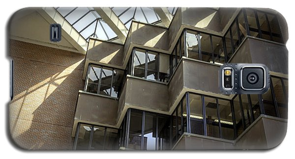 Uf Marston Science Library Accordian Window Wall Galaxy S5 Case