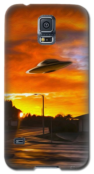 UFO Galaxy S5 Case by Gregory Dyer