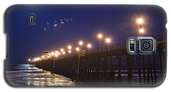 Ufo's Over Oceanside Pier Galaxy S5 Case