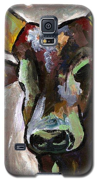Ugandan Long Horn Cow Galaxy S5 Case