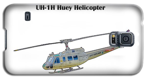 Uh-ih Huey Helicopter Galaxy S5 Case