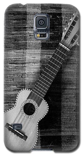 Ukulele Still Life In Black And White Galaxy S5 Case