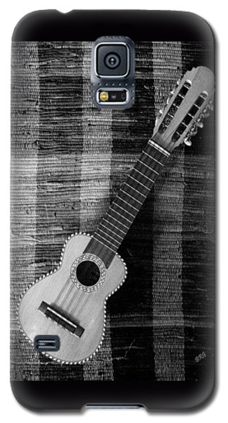 Ukulele Still Life In Black And White Galaxy S5 Case