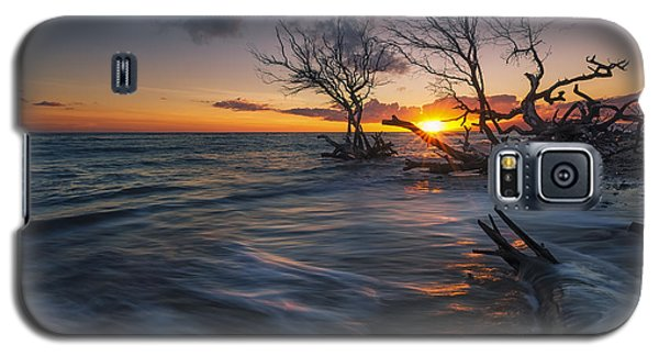 Galaxy S5 Case featuring the photograph Ukumehame Sunset by Hawaii  Fine Art Photography