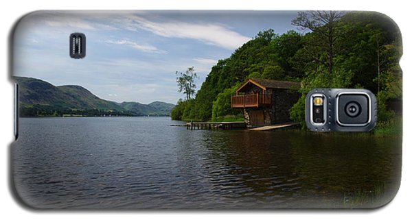 Ullswater Boathouse Galaxy S5 Case by Graham Hawcroft pixsellpix