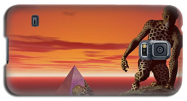 Galaxy S5 Case featuring the digital art Ultimatum - Surrealism by Sipo Liimatainen